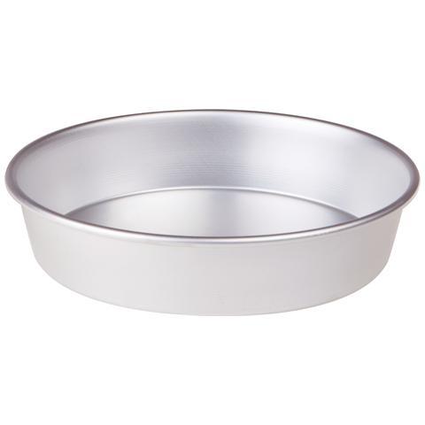 Tortiera Conica In Alluminio Con Orlo (h Cm 6) - Diametro Cm 50 - Altezza Cm 6