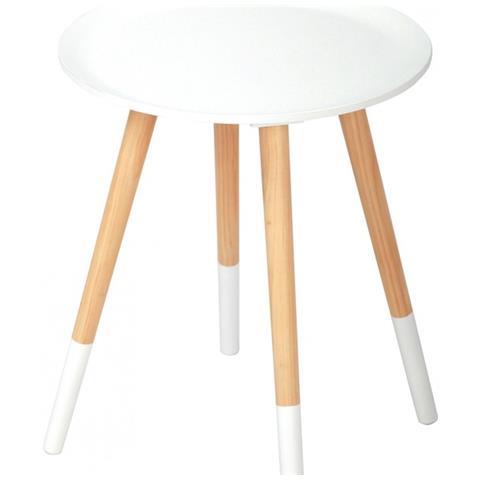 Tavolini Da Salotto Arredamento.Casa Collection Tavolino Arredo Da Salotto Con Base In Legno