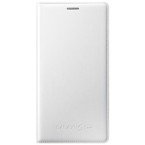 SAMSUNG Flip Cover per Galaxy S5 Mini - Bianco