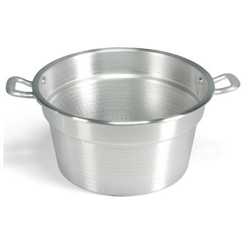HOME Caldaia Alluminio Pesante Spazzolata Cm22 Pentole E Preparazione