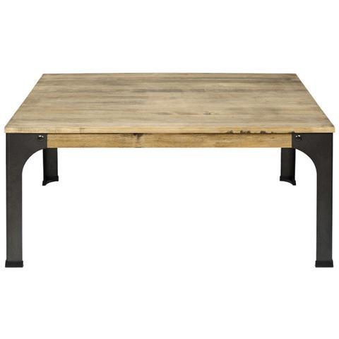 Tavolini Da Salotto Vintage.Ds Muebles Tavolino Da Salotto Stile Industriale Vintage