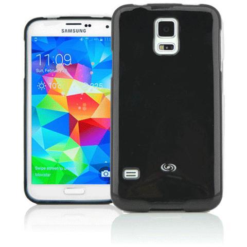 FONEX Energy Case Cover in Morbido TPU per Galaxy S5 / S5 Neo Colore Nero