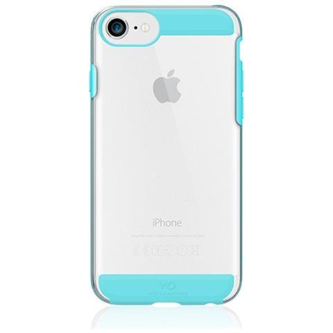WHITE DIAMONDS Cover in TPU per iPhone 8 / 7 / 6S / 6 Colore Trasparente