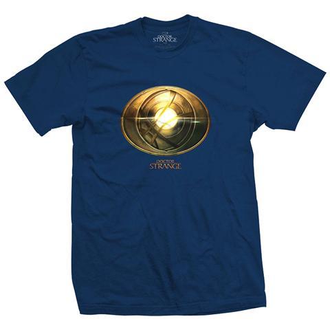 ROCK OFF Marvel Comics - Doctor Strange Amulet Blue (T-Shirt Unisex Tg. M)