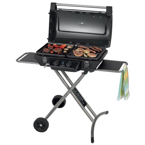 Barbecue in Ghisa 2 Bruciatori a Gas - Modello 2 Series Compact LX