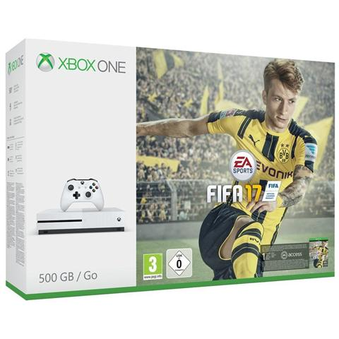 Image of Console Xbox One S 500 Gb + Gioco Fifa 17 Limited Bundle