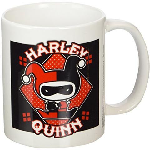 Tazza Justice League Mug Chibi Harley Quinn
