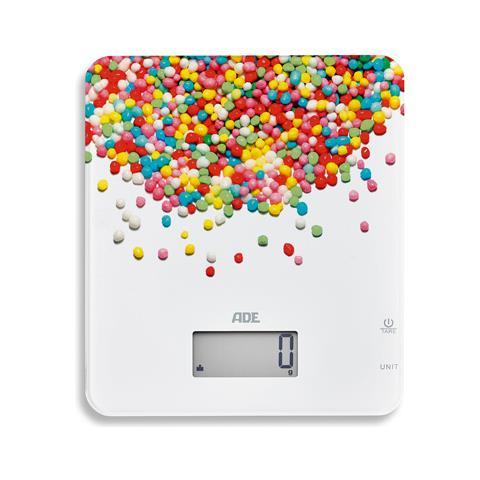 Candy Da tavolo Rettangolo Bilancia da cucina elettronica Multicolore