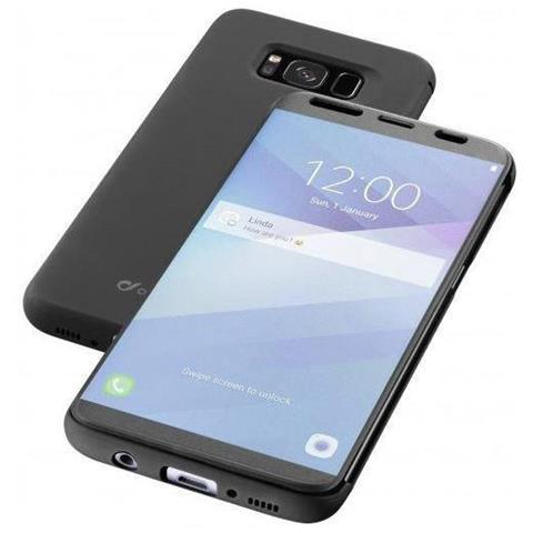 CELLULAR LINE Flip Cover Custodia a Libro per Galaxy S8 colore Nero