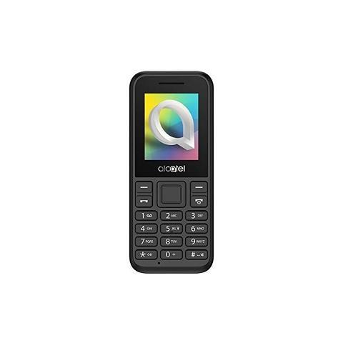 """ALCATEL 10.66D Dual Sim Display da 1.8"""" +Slot MicroSD Fotocamera Colore Nero - Italia"""