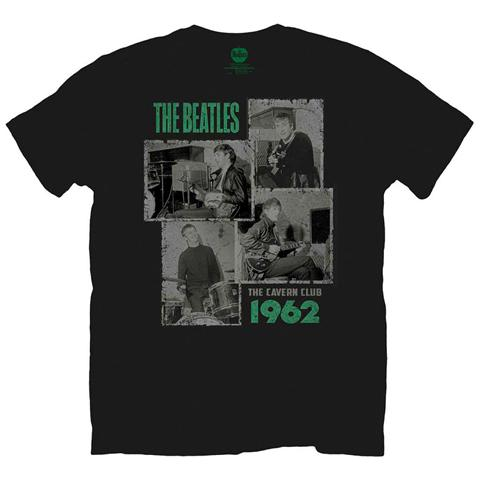 ROCK OFF Beatles (The) - Cavern Shots 1962 Black (T-Shirt Unisex Tg. M)