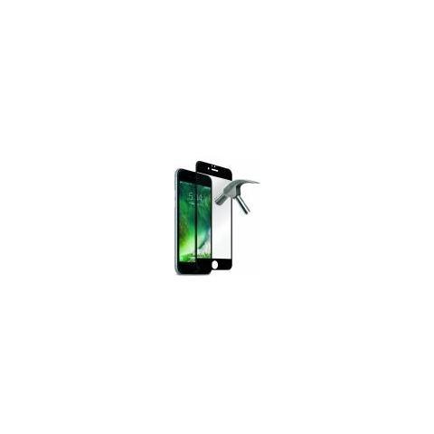 PURO Pellicola Display Iphone 7 4.7 Vetro Temperato Full Edge Premium Nero Puro