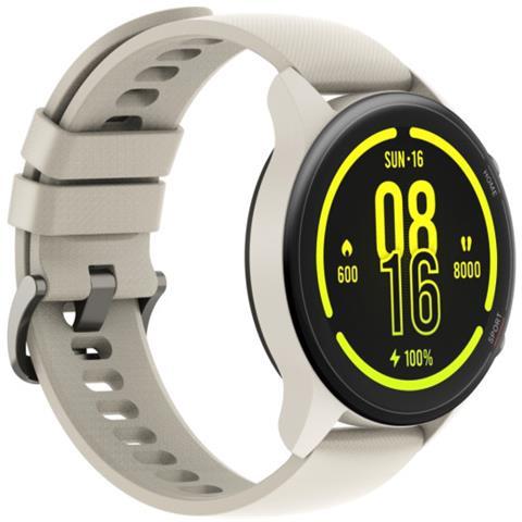 Smartwatch Mi Watch Impermeabile 5ATM Display 1,39'' Bluetooth Cardiofrequenza Beige Itali...