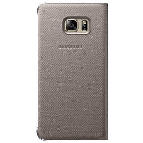 SAMSUNG S-View Cover EF-CG928 Galaxy S6 Edge+ oro