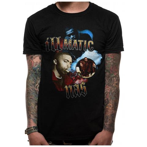 CID Nas - Iii Matic (T-Shirt Unisex Tg. 2Xl)