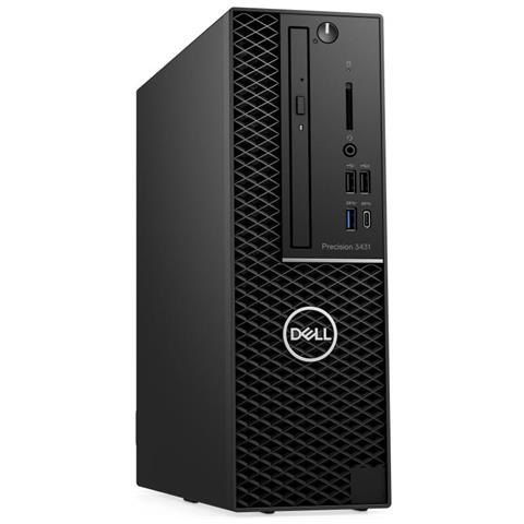 Image of Pc Desktop Precision 3431 Intel Core i7-9700 Octa Core 3 GHz Ram 16 GB SSD 512 GB 1xUSB 3.1 5xUSB 3.0 Windows 10 Pro