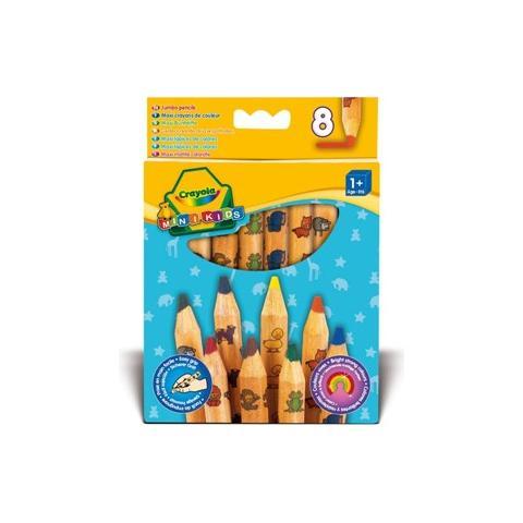 CRAYOLA Colora Mini Kids 8 Maxi Matite Colorate 3678