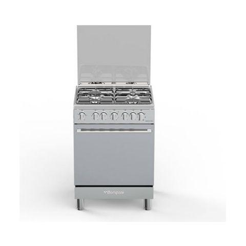 BOMPANI - Cucina Elettrica BO643MA / N 4 Fuochi a Gas Forno ...