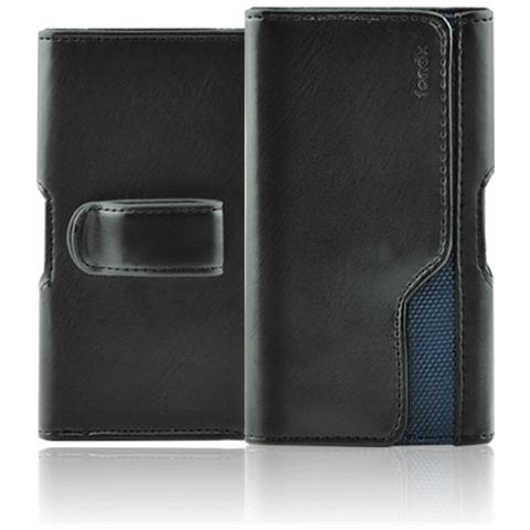 FONEX Belt Slim Custodia a Fondina Universale Taglia XL 153x81x10 mm Colore Nero