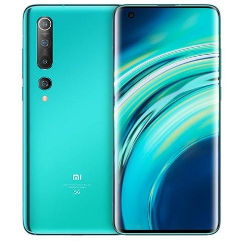 Image of Mi 10 5G Verde 128 GB Display 6.67'' Full HD+ Fotocamera 108 Mpx Android