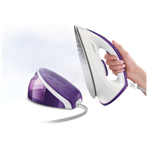 PHILIPS Ferro da stiro HI5915/35 con Generatore di Vapore Potenza 2400 W Colore Viola Bianco