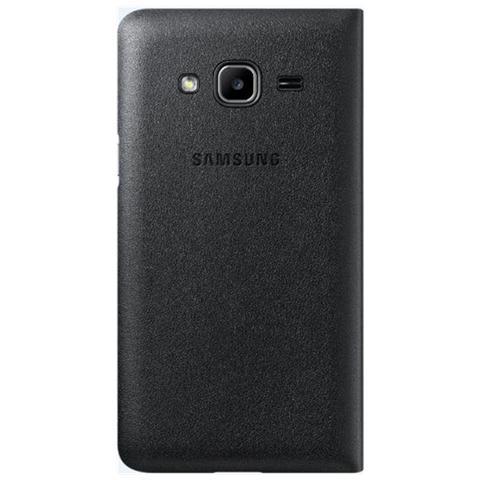 SAMSUNG Flip wallet black samsung galaxy j1 2016