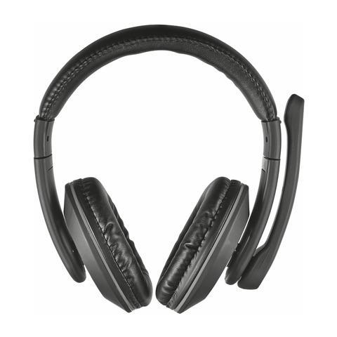 TRUST Reno comode cuffie over-ear con controllo volume integrato e microfono regolabile
