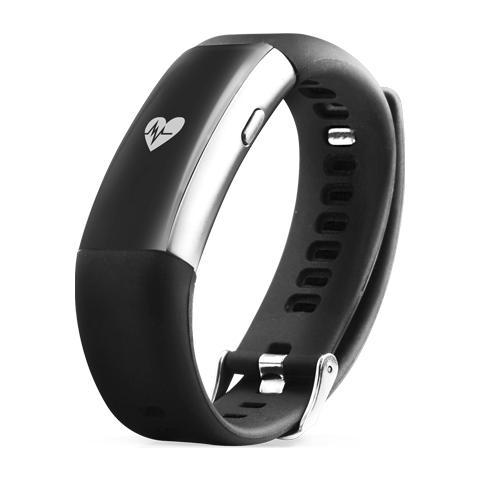 EASYTECK Energy Fit Cardio braccialetto bluetooth per il monitoraggio dell'attività fisica e le notifiche. Compatibile con iOs e Android