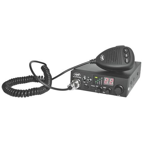 - Radioricevitore / radiotrasmettitore Cb Escort Hp 8000l, Asq, 12v, 4w Regolabile, Blocco...
