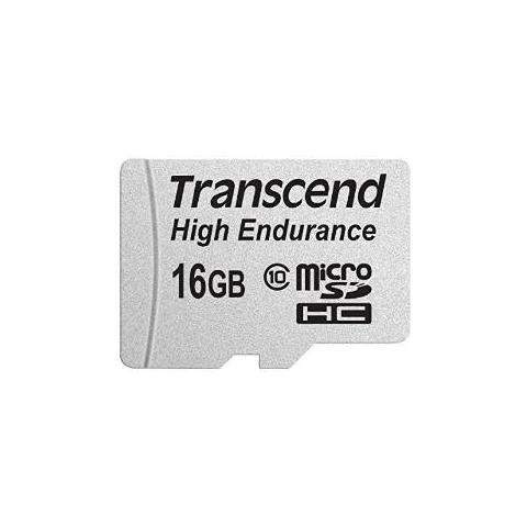 TRANSCEND MicroSDHC da 16 GB IPX7 Class 10