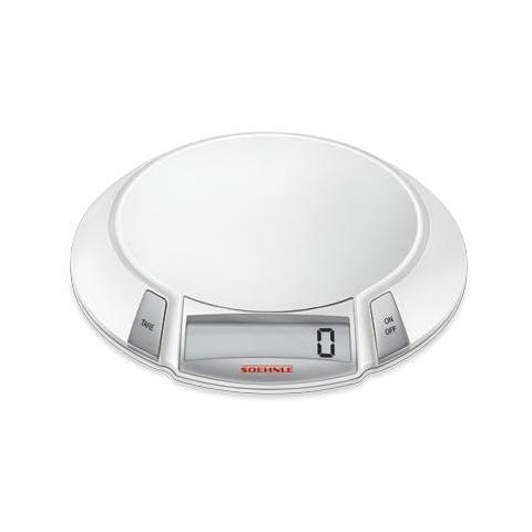 Soehnle Bilancia da Cucina Digitale Bianco e Argento 19 x 210 x 208 mm 66110-EU