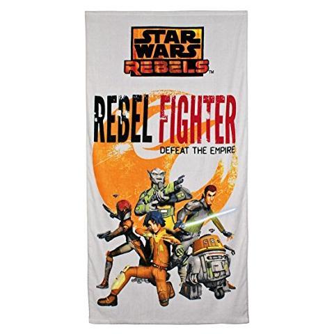 CERDA Asciugamano Telo Mare Star Wars Towel Rebel Fighter 140 X 70 Cm