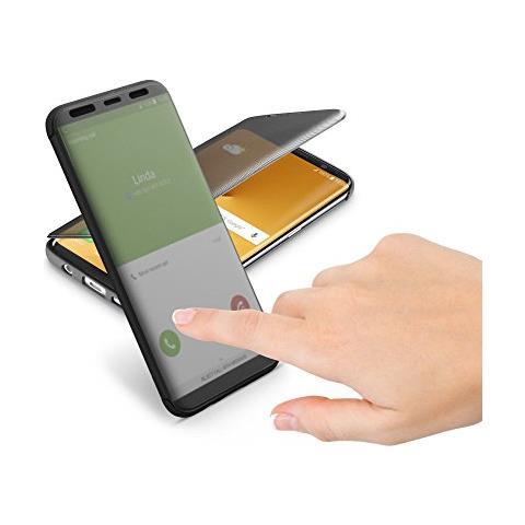 CELLULAR LINE Flip Cover Custodia a Libro per Galaxy S8 Plus colore Nero