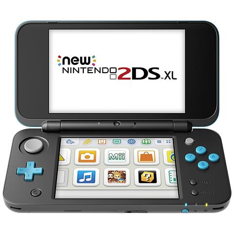 Image of Console 2DS XL Nero / Turchese