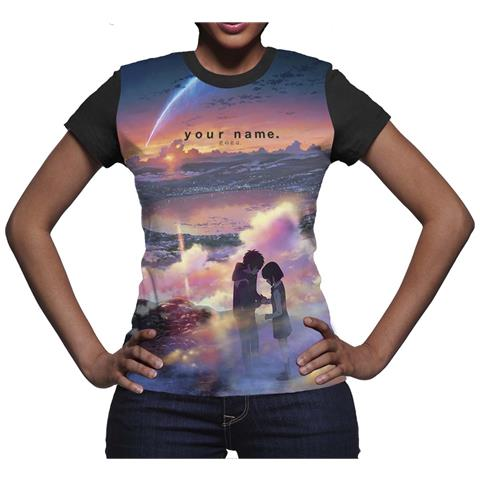 DYNIT Your Name. - Tramonto (T-Shirt Donna Tg. S)