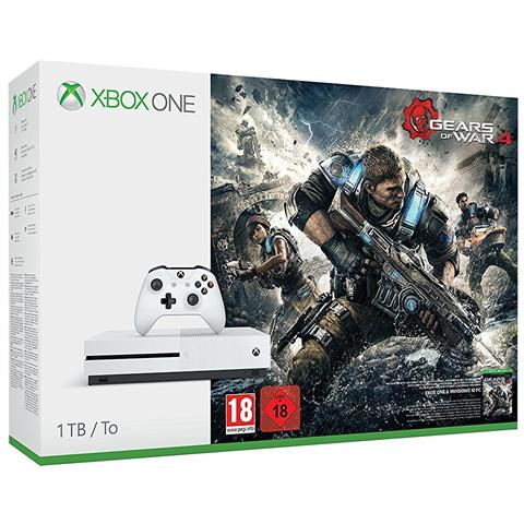 Image of Console Xbox One S 1 TB + Gioco Gears of War 4 Limited Bundle