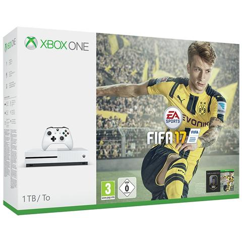 Image of Console Xbox One S 1 TB + Gioco Fifa 17 Limited Bundle