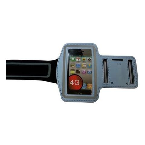 NetworkShop Custodia Fascia Da Braccio Sport Armband Azzurro Per Iphone 4/4s / 3g / 3gs / ipod Tou