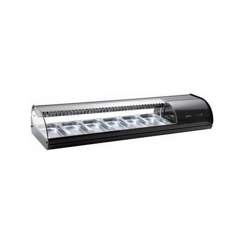 Vetrina Refrigerata Frigor Banco Frigo Sushi Cm 108x39x24 +2 +5 Rs2268