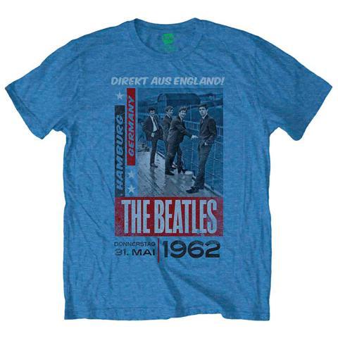 ROCK OFF Beatles (The) - Direkt Aus England Grey (T-Shirt Unisex Tg. 2XL)