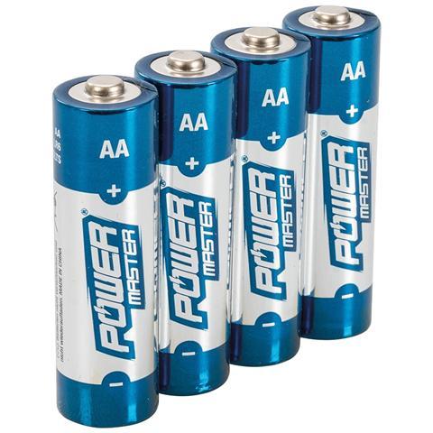 pmaster 992118 Batterie Alcaline Aa Super Lr6 4 P. zi 4 P. zi