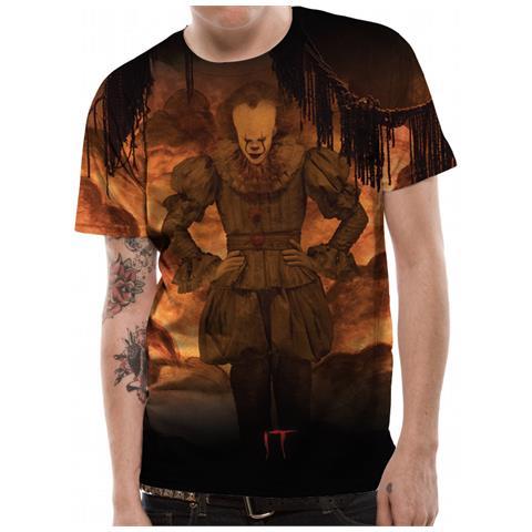 CID It - Flames Sublimated (T-Shirt Unisex Tg. Xl)
