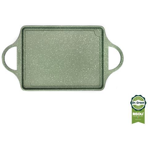 Piastra Servigrill In Alluminio Antiaderente Dr Green Di Risol?