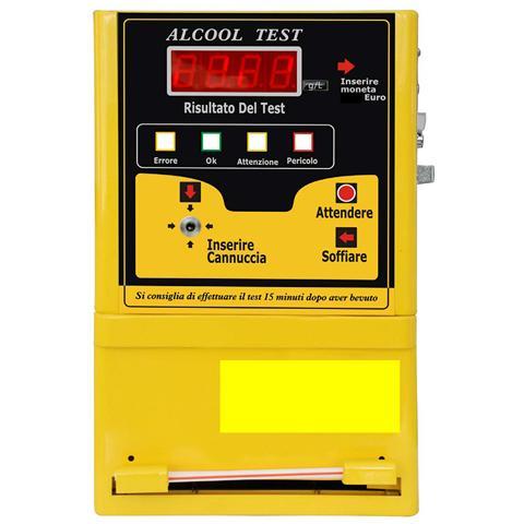 MEC Etilometro Alcool Test Professionale Giallo ETIL30910