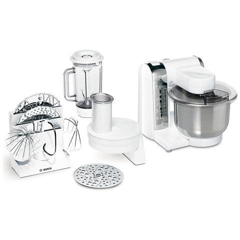 MUM48CR1 Macchina da Cucina Potenza 600 Watt Capacità 3.9 Litri Colore Bianco