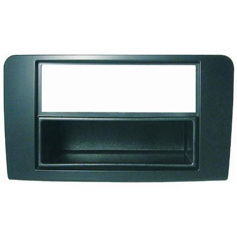 Phonocar Adattatore autoradio 03366 Mascherina con foro ISO / Doppio Iso / Doppio DIN colore nero Mercedes