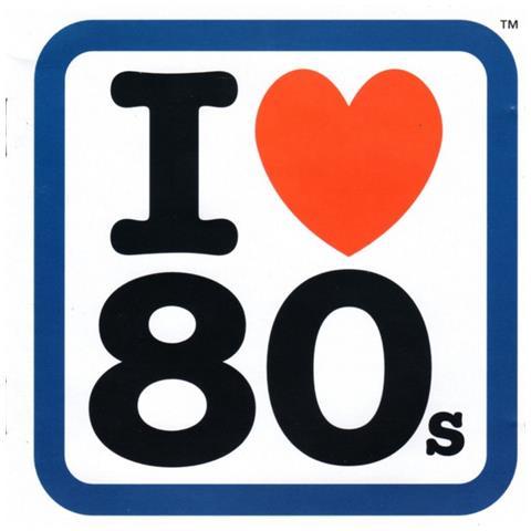 VIRGIN I Love 80S (2 Cd)