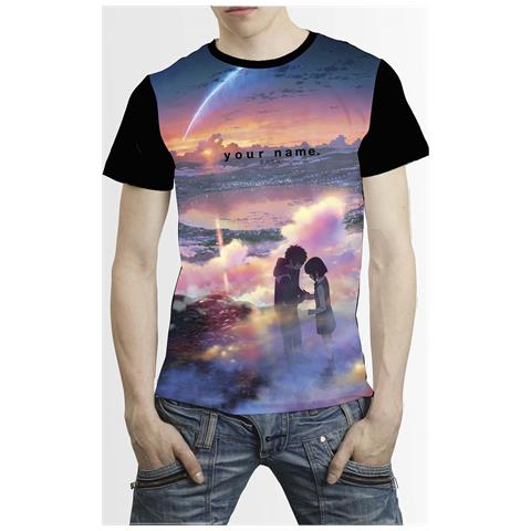 DYNIT Your Name. - Tramonto (T-Shirt Unisex Tg. L)
