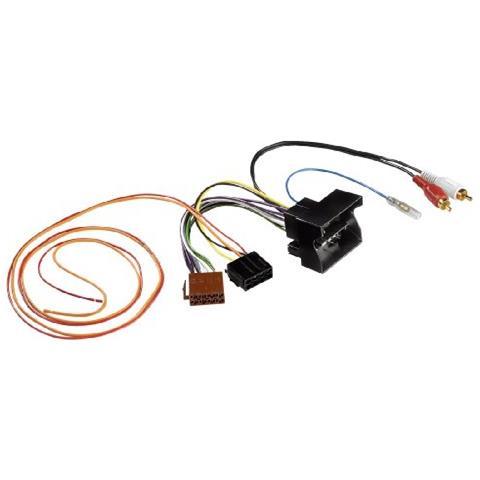 HAMA Partially Active System Adapter / Audi Quadlock Nero cavo di interfaccia e adattatore
