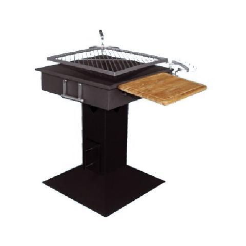 Barbecue a Carbone Struttura in Acciaio